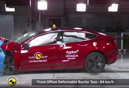 Masini de 5 stele, testate de Euro NCAP in iulie. Un model este electric
