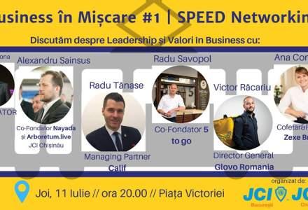 (P) Te asteptam in tramvaiul de Business in Miscare - Joi, pe 11 Iulie! Business in Miscare - editia 1 - eveniment de Speed Networking, organizat de JCI Bucuresti , in parteneriat cu JCI Chisinau
