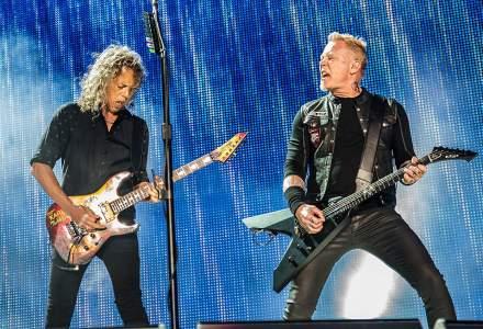 Metallica in Romania: Cat castiga din bilete trupa de heavy metal