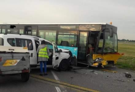 CNAB: Patru persoane au fost ranite intr-un accident pe Aeroportul Otopeni. Traficul aerian nu a fost afectat