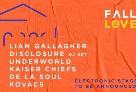 Noi artisti anuntati la Fall in Love Festival: Underworld, De La Soul, Robin and The Backstabbers si altii