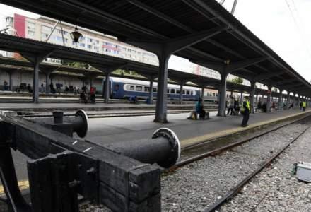 Traficul feroviar din Gara de Nord a fost blocat, marti, de o punga de plastic