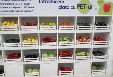 De unde poti cumpara fructe si legume cu PET-uri in loc de bani