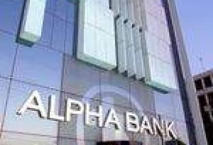 Alpha Bank: Profit brut de 17 mil. euro, in crestere cu 102,4% in T1