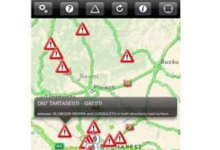 Arobs Transilvania a lansat o aplicatie cu informatii din trafic pentru iPhone si iPad