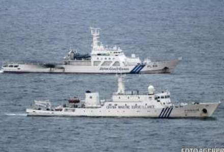 Trei nave guvernamentale chineze au patruns in apele teritoriale ale arhipelagului japonez Senkaku
