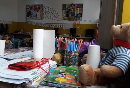 Reportaj de la gradinita estivala Salvati Copiii: Jocul si educatia oamenilor mici din comunitatile sarace