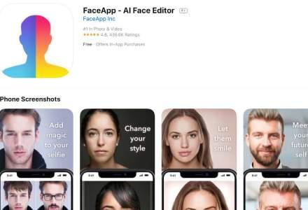 O falsa aplicatie FaceApp infecteaza victimele cu un modul adware
