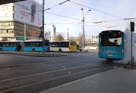 Multiple statii de autobuz din Bucuresti isi schimba locatia si numele