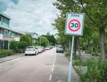Limita de viteza 30 km/h...