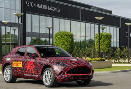 Noi detalii despre SUV-ul Aston Martin: DBX va fi lansat in decembrie 2019