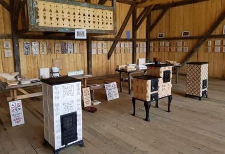 REPORTAJ la ultima fabrica de sobe cu cahle presate si pictate manual din Romania