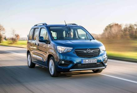 Opel Combo Life primeste o noua versiune cu motor pe benzina: 1.2 litri cu 130 CP si transmisie automata cu opt rapoarte