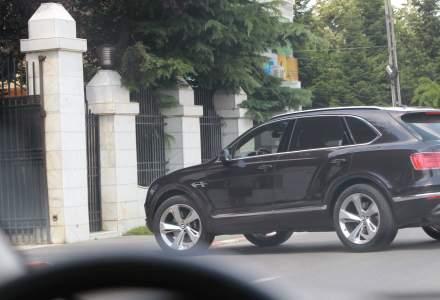 Gigi Becali si-a cumparat un SUV Bentley. Costa un sfert de milion de euro