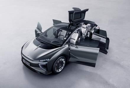 Chinezii prezinta un SUV electric cu un design inedit