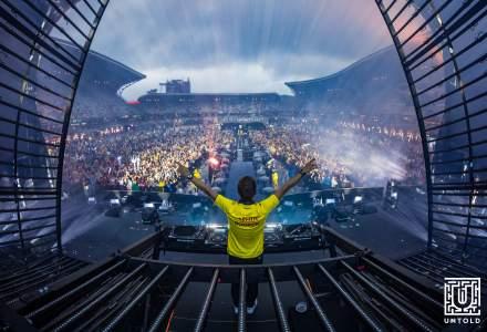 Peste 95.000 de festivalieri in a doua zi de Untold. Armin van Buuren a deschis showul cu Orchestra Operei din Cluj-Napoca si cu imnul national