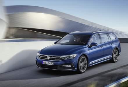 Volkswagen Passat facelift poate fi comandat in Romania. Telefonul mobil, pe post de cheie