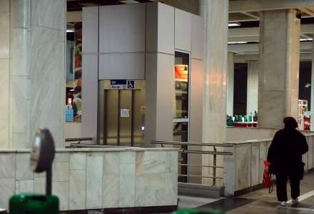 Metrorex a pus in functiune noi lifturi si un escalator in statiile de metrou