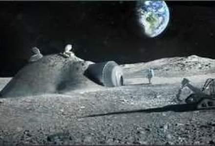 Cum vor arata primele cladiri construite pe Luna