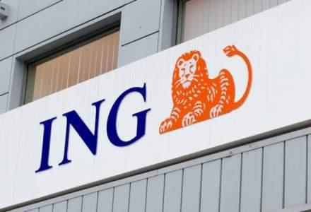 ING Bank Romania, profit brut de 451 de milioane de lei in prima jumatate a anului