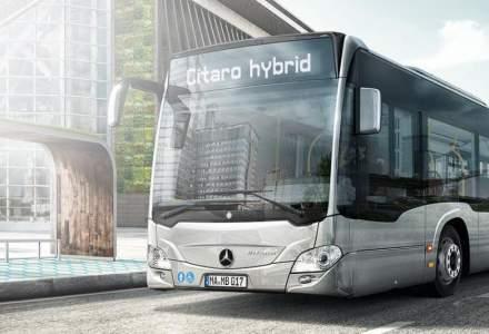 Capitala va avea 130 de autobuze noi Mercedes - Benz, de tip hibrid, care vor fi livrate din mai 2020