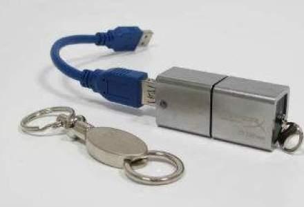 Kingston Romania: am vandut deja memorii USB de 512 Gb la pretul de 4.400 de lei/bucata