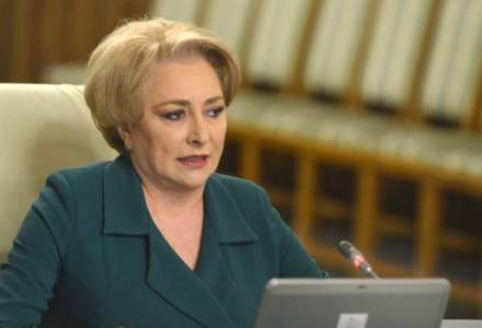 Viorica Dancila anunta ca Guvernul va sprijini construirea unei forte navale militare