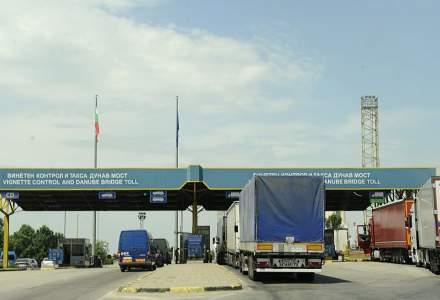 Minivacanta de Sfanta Maria: Aglomeratie la punctul de trecere a frontierei Giurgiu-Ruse