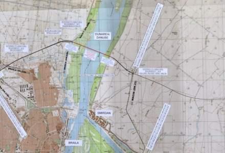 Lucrarile la podul de peste Dunare de la Braila sunt in grafic, iar constructorilor li se vor aplica doua noi masuri