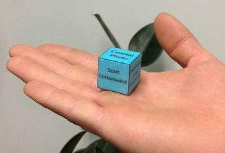 Cineva interesat de carti de vizita 3D?