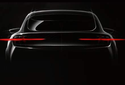 SUV-ul electric pregatit de Ford va fi prezentat in luna noiembrie: modelul va avea o autonomie de 480 de kilometri