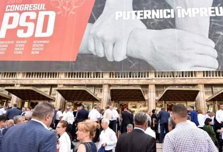 Congres extraordinar al PSD, la Palatul Parlamentului, pentru desemnarea candidatului la alegerile prezidentiale