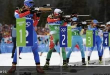 Torta olimpica a Festivalului Olimpic al Tineretului European a fost adusa la Guvern
