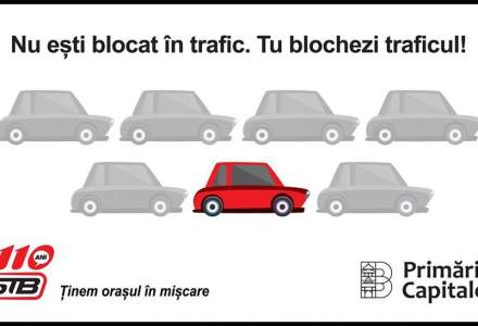 """Val de critici si ironii la adresa STB, dupa o postare pe Facebook: """"Tu blochezi traficul"""""""