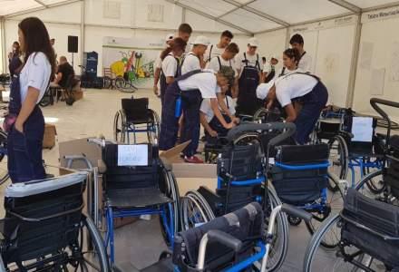 "REPORTAJ ""Meseriasii"" din Tara lui Andrei au asamblat scaune rulante pentru persoanele cu dizabilitati"