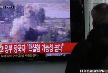 Coreea de Nord efectueaza al treilea test nuclear. Sfidare?