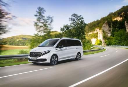Mercedes-Benz prezinta monovolumul electric EQV la Salonul Auto de la Frankfurt