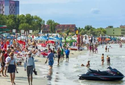 Numar INFIM de turisti straini pe litoralul romanesc
