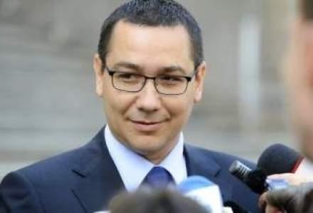 Ponta: dupa ce se incheie criza carnii de cal, incepem ofensiva