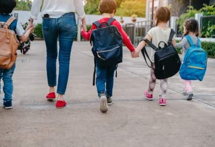 Sondaj: Prima zi de scoala da batai de cap angajatilor care au copii. Doar trei din zece angajatori le acorda liber fara nicio problema