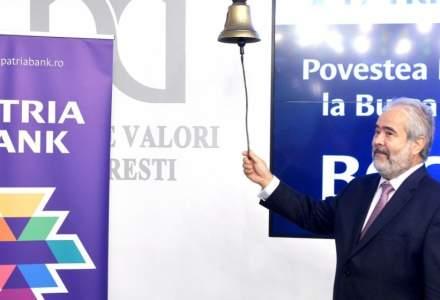 Patria Bank vrea sa emita cel putin 6.000 de obligatiuni in valoare de minimum 3 milioane de euro
