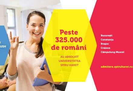 (P) De aproape trei decenii, Universitatea Spiru Haret este lider in domeniul invatamantului privat din Romania