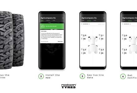 Nokian lanseaza un sistem de monitorizare pentru anvelope