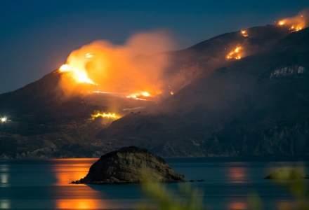 Doua localitati din insula Zakynthos au fost evacuate din cauza incendiilor
