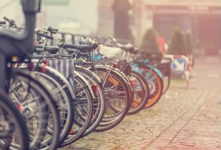 Proiect: Institutiile publice, autogarile, pietele vor trebui sa monteze parcari speciale pentru biciclete. Altfel risca amenzi de pana la4.000 de lei