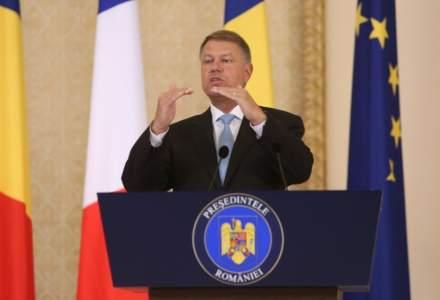 Iohannis, la depunerea candidaturii: Este o perioada complicata pentru Romania