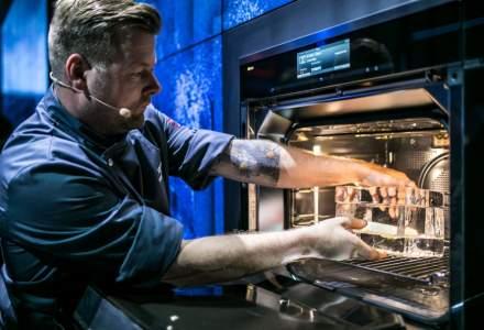 Miele lanseaza un cuptor de...8.000 de euro. Gateste pestele in cub de gheata