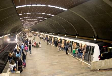 Metroul ar putea circula doar dimineata, incepand de luni. Alstom ameninta cu suspendarea mentenantei