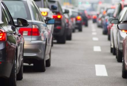 Prahova: Trafic rutier in coloana pe DN1 in zonele localitatilor Busteni si Comarnic
