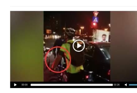 Incident grav in Bucuresti: Un sofer a iesit cu un pistol din masina